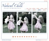 NaturalChild.biz - Portfolio site for Photographer Kelly Radinsky.