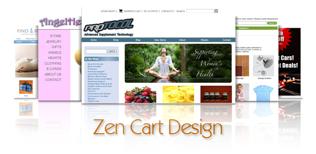 Custom zencart design