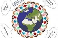 Gefällt mir - Button, Sprechblasen, weltweit