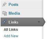 wordpress links