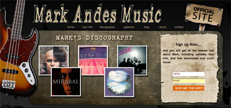 Mark Andes Music